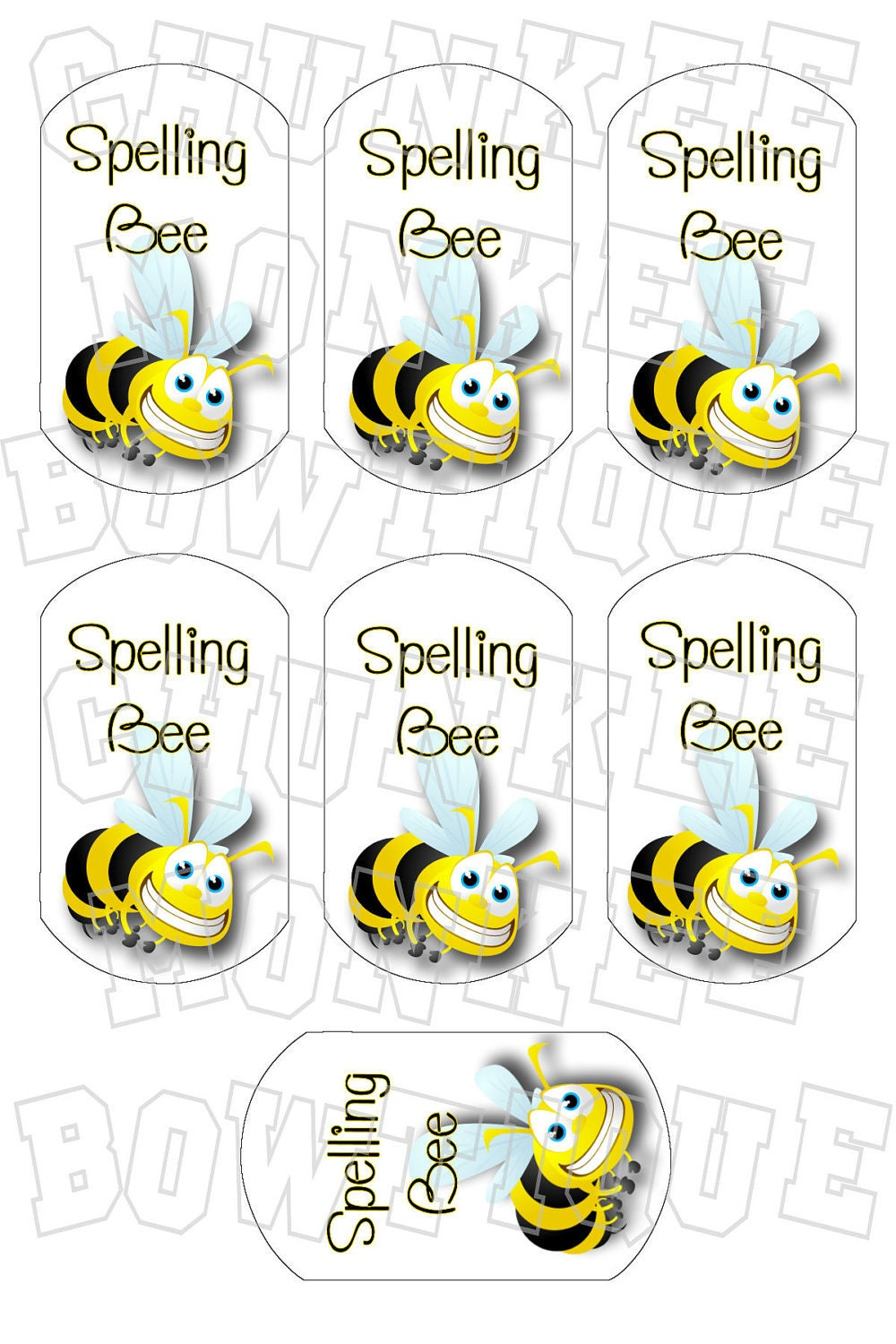 Spelling bee on etsy a global handmade and vintage - Decoraciones gramar ...
