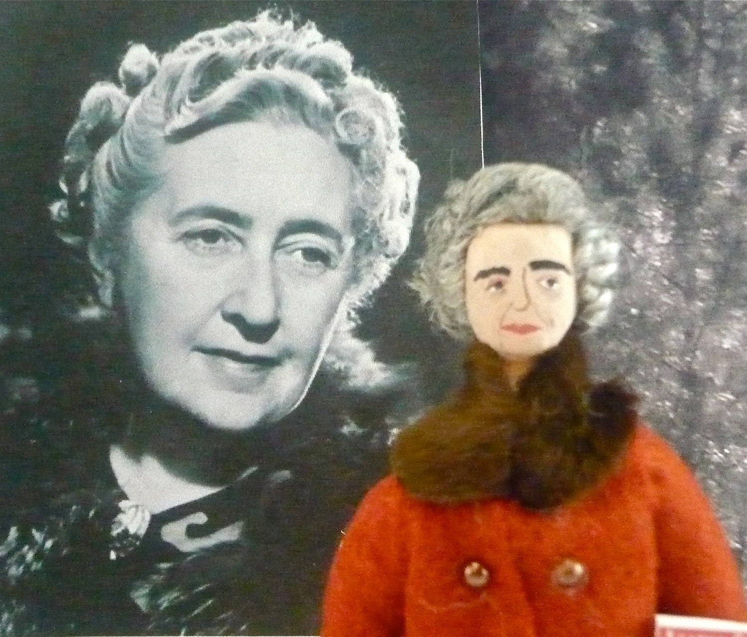 Agatha Christie Doll British Mystery Author in Miniature