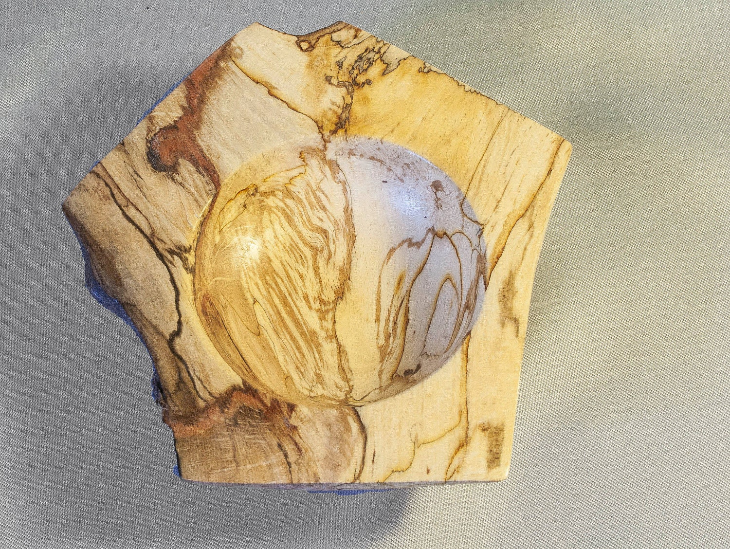Made from Spalted Beech.