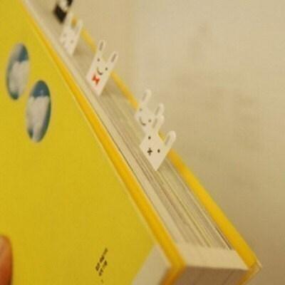 Index Post it Sticky Note Set - Rabbit