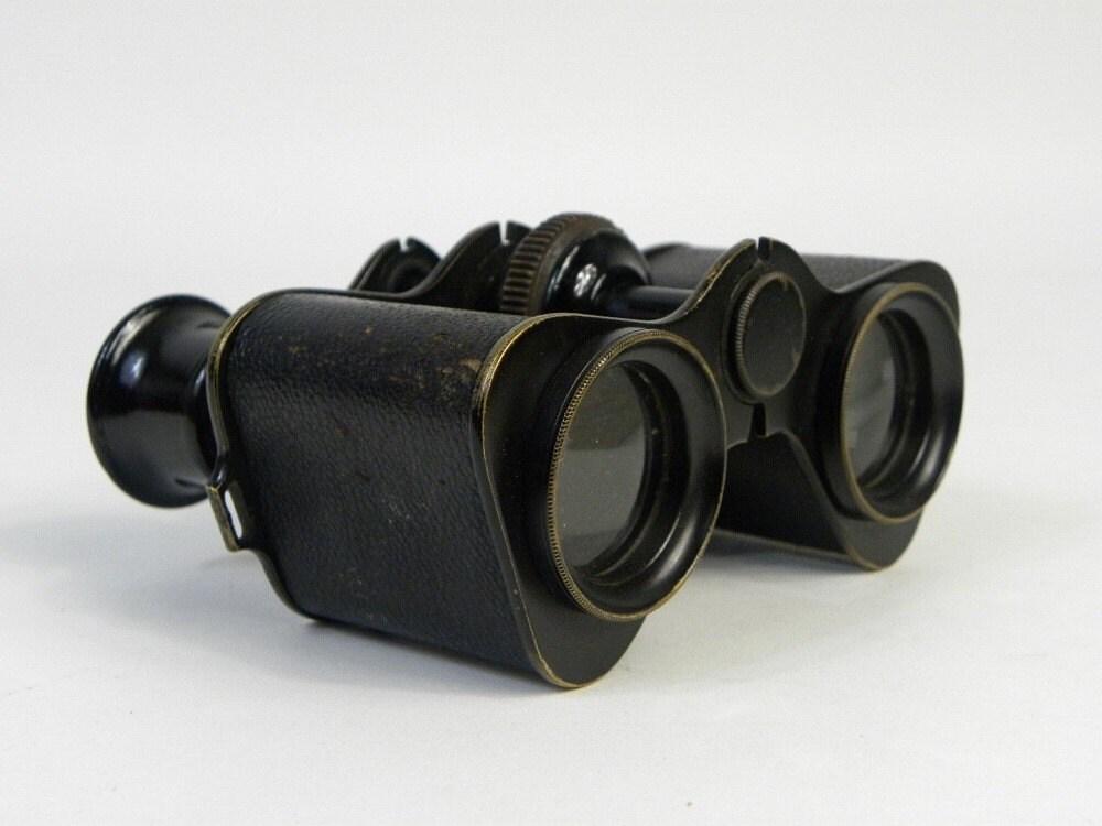 Binoculars Chevalier Paris Ornate Bird Design by Antiqueish