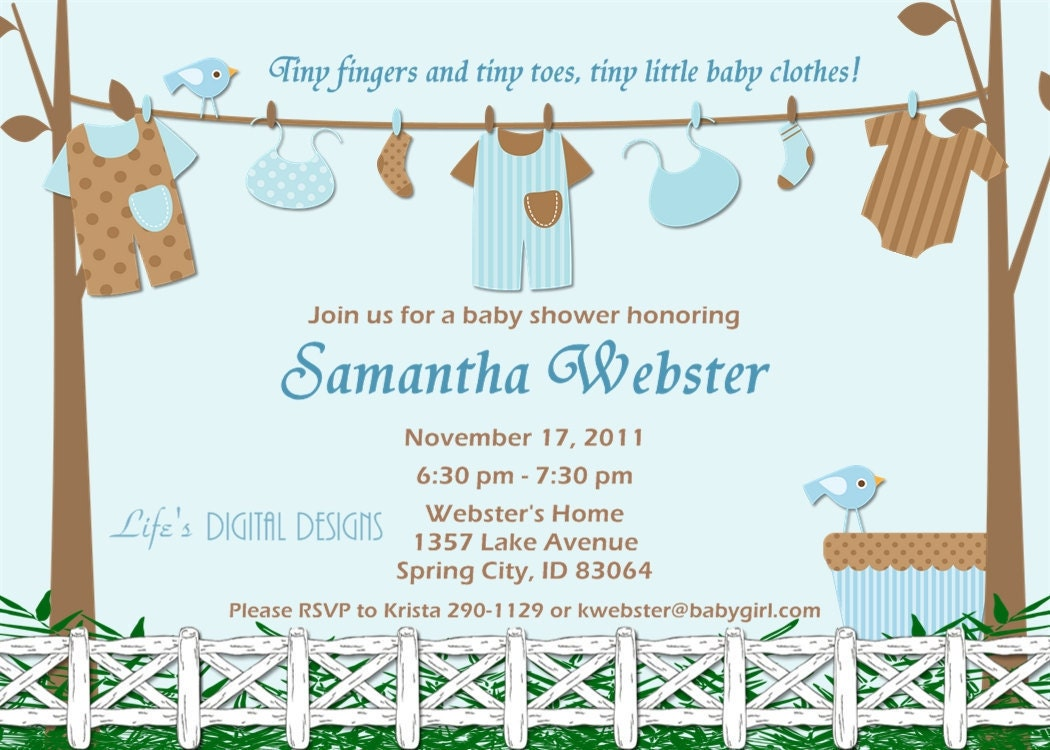 Walmart Baby Boy Shower Invitations - Amazing Invitation Template ...