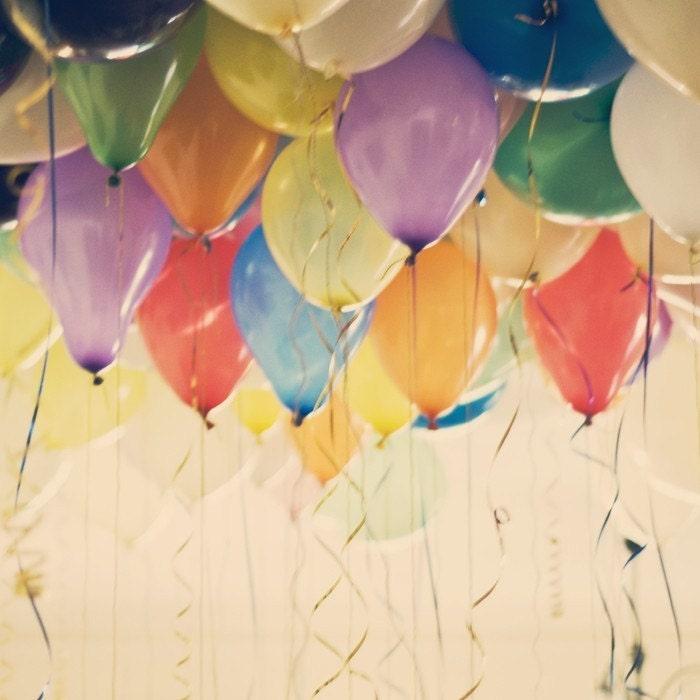 99 Balloons - 5x5 Photographic Print