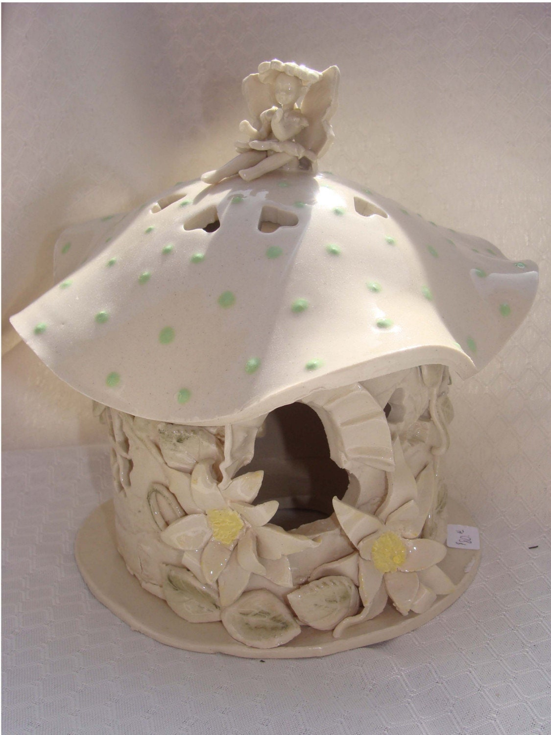 Whimsical Fairy Night Light House Hand Built From By