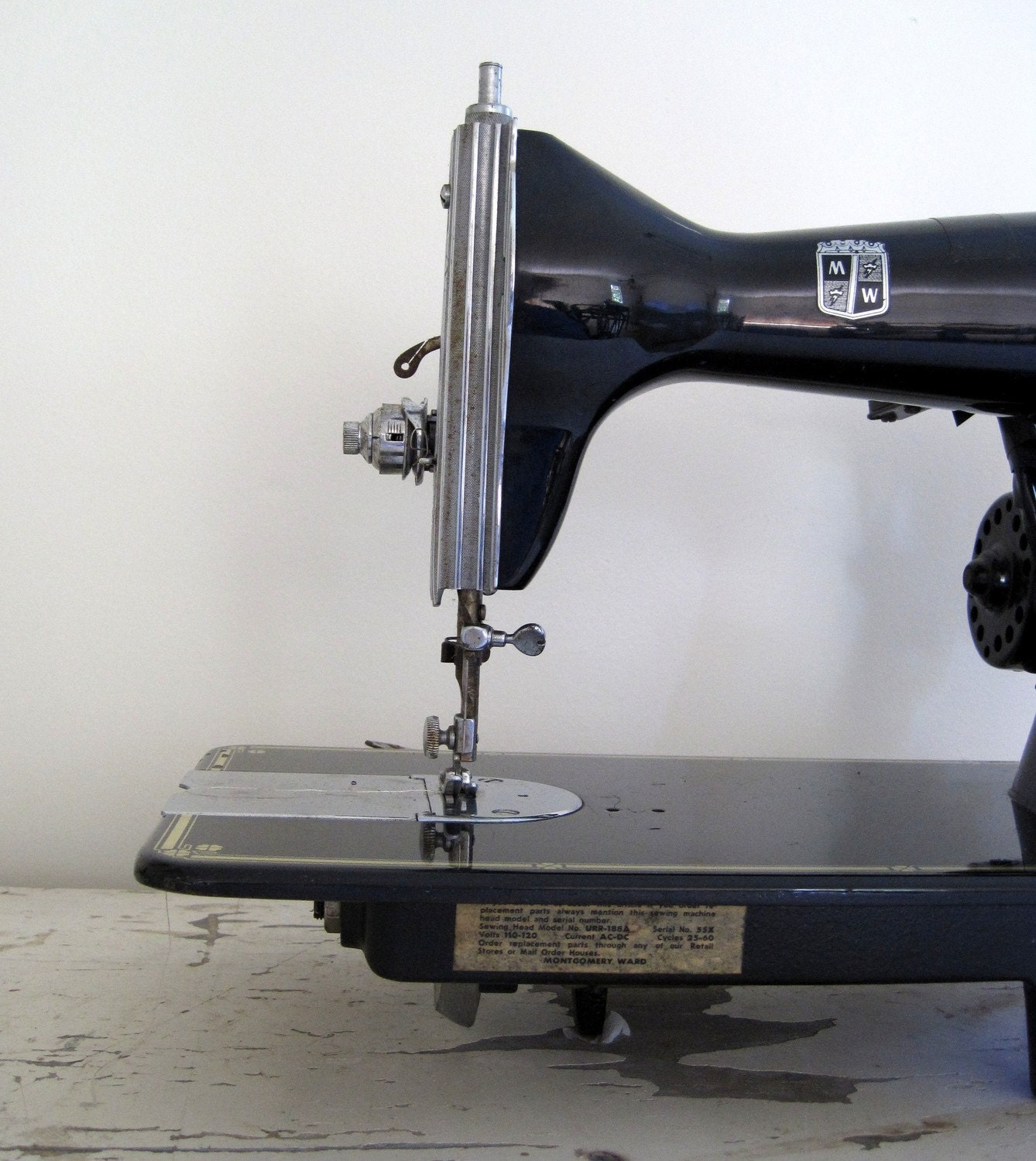 Montgomery Ward Vintage Sewing Machine