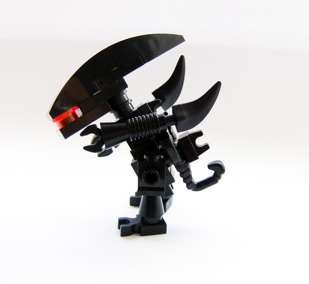 Alien Movie: Alien Movies Custom Made LEGO Gieger Minifig By Tinyminds