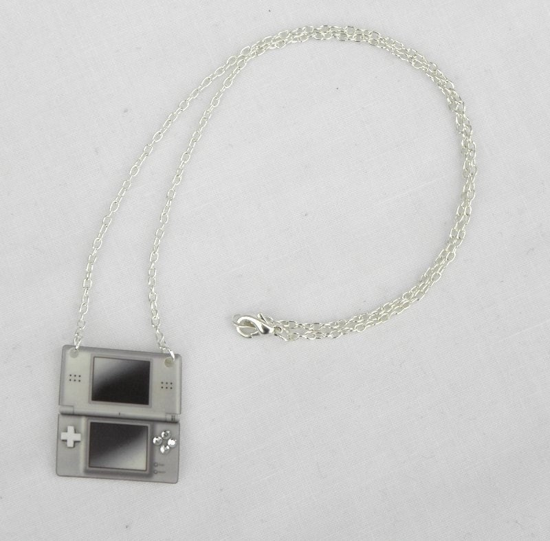 GIRL GAMER Nintendo DS Console Video Games  Necklace