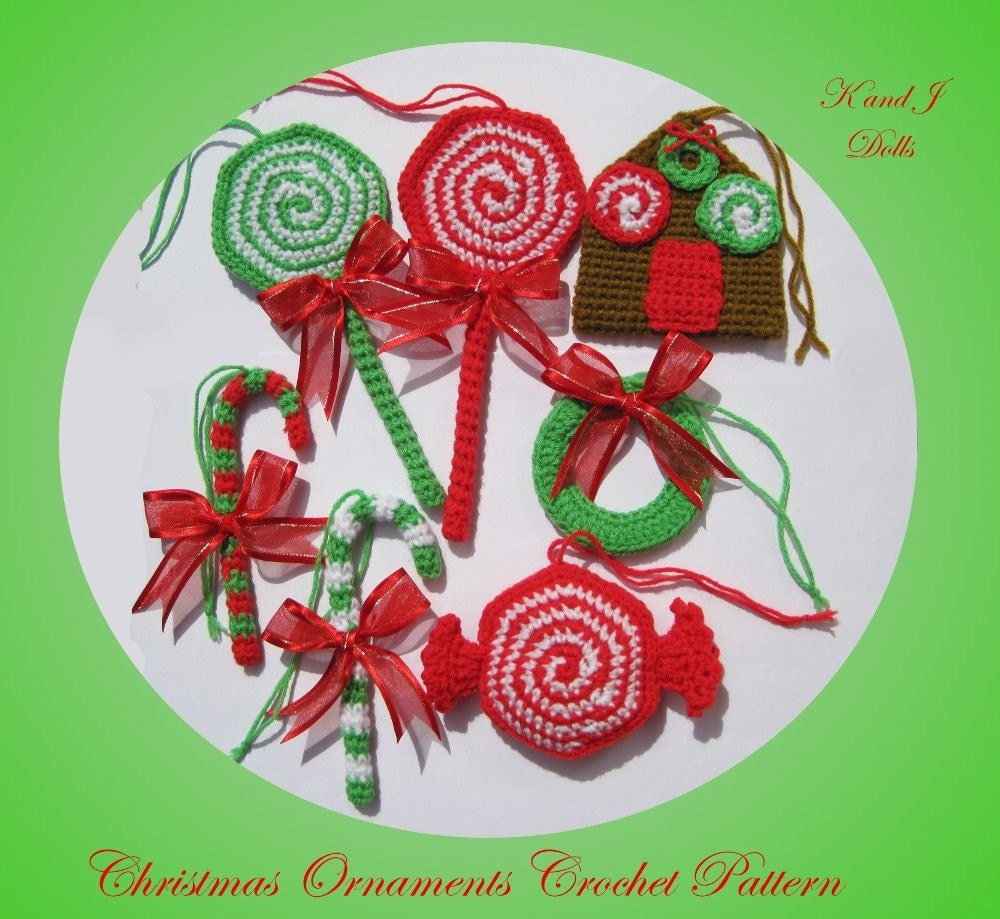 Christmas Ornaments - PDF Amigurumi crochet pattern