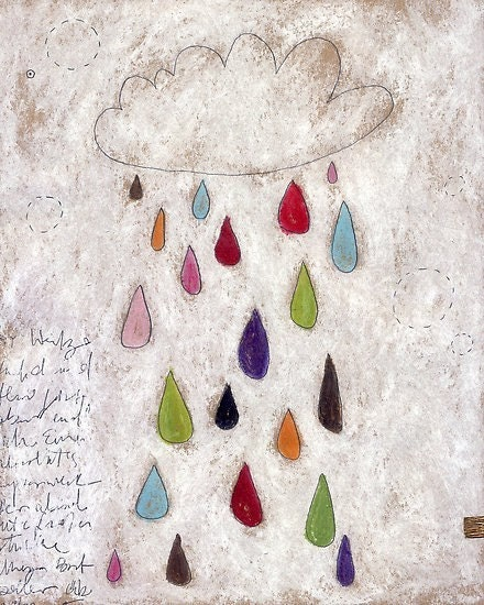 The rain  cloud - Print