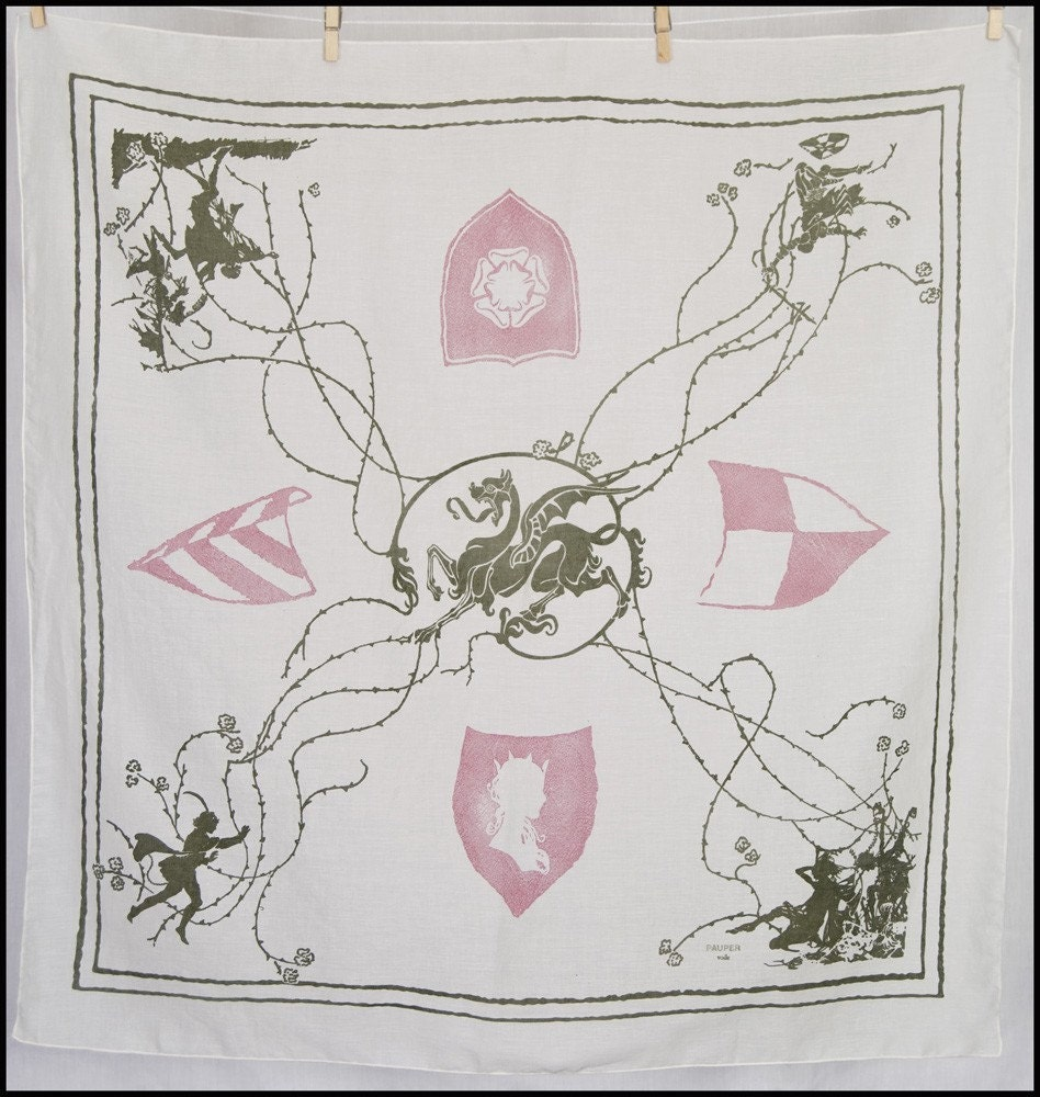 The Briar Rose scarf