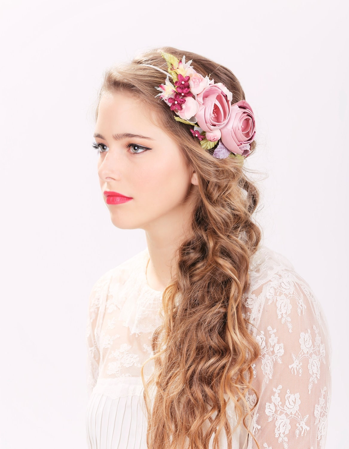 Bridal hair accessories for long hair - Http Img0 Etsystatic Com 007 2 5705999