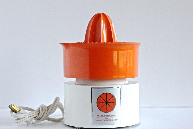 Electric Orange Squeezer ~ Hamilton beach electric orange juicer by thewrinklyelephant