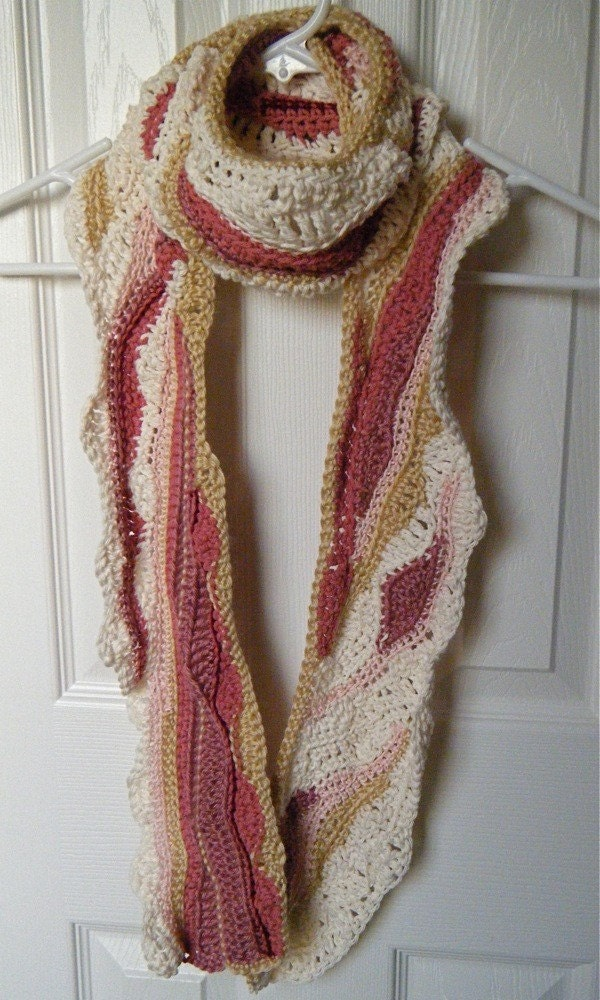 Wrap Me in Bacon Scarf Reserved for Jen by tehlia on Etsy
