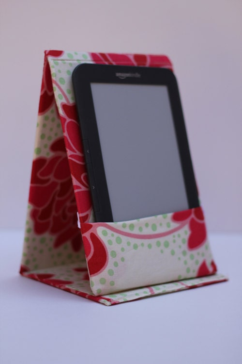 kindle/nook e-reader cases - pink peonies