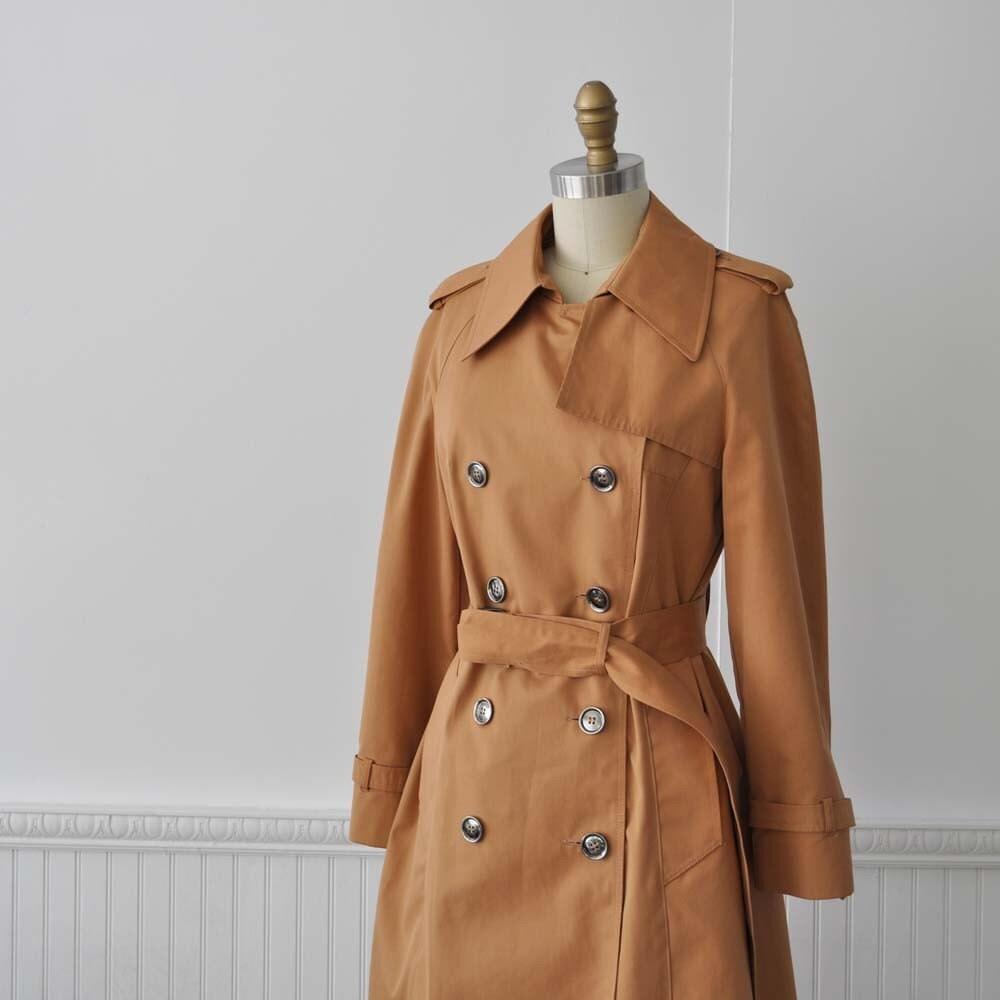 Vintage SPICE TEA Trench Coat