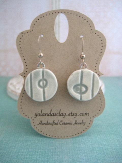Celadon Rounds Earrings