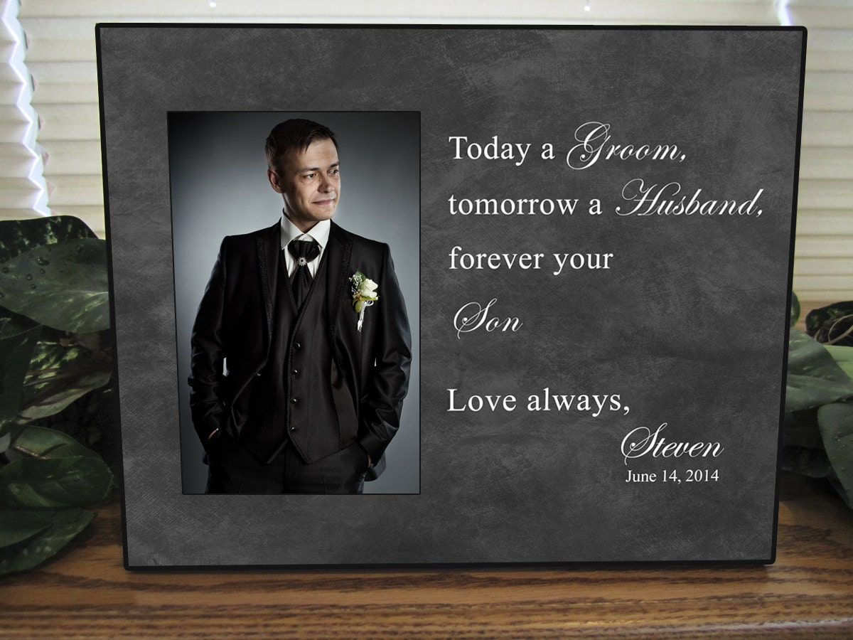 Parents Wedding Gift, Parents of the Groom, Father of the Groom Gift ...