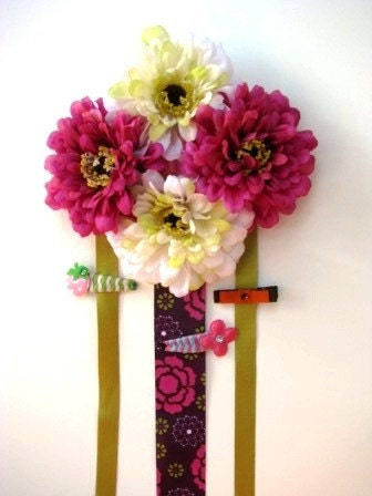 Luxe 4 Flower Hairbow Holder