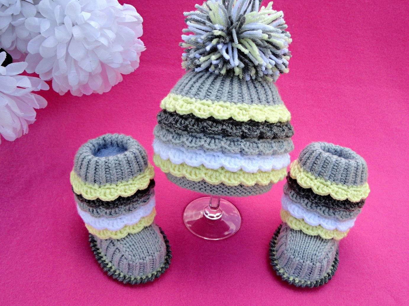 Crochet and knitting patterns PDF files by LittleOwlsHut