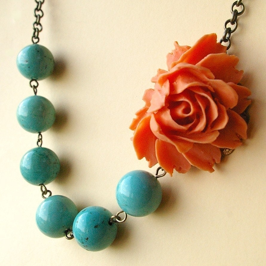 karly (tangerine) necklace