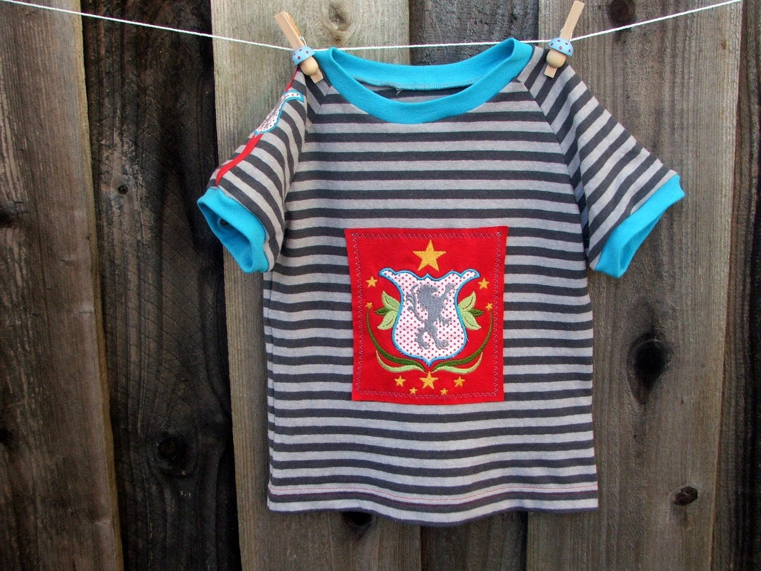 The Knight's Shield Boutique Eco Friendly Boy's T-Shirt, Size 6/7