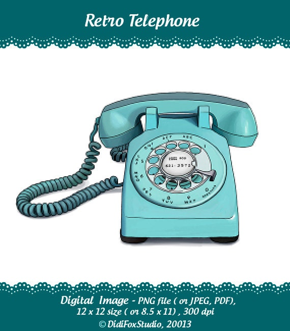 Image result for Vintage Telephone Clip Art