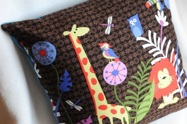 Jungle Jam Pillow