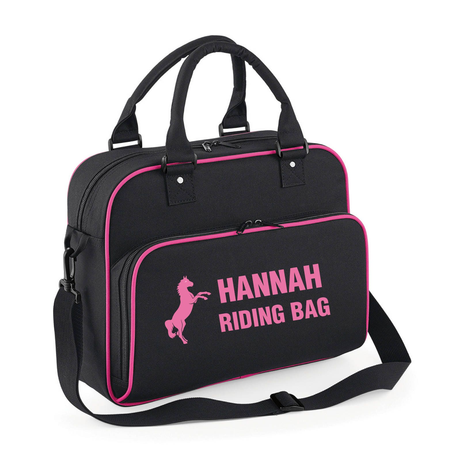 iLeisure Girls Personalised Horse Riding Bag.