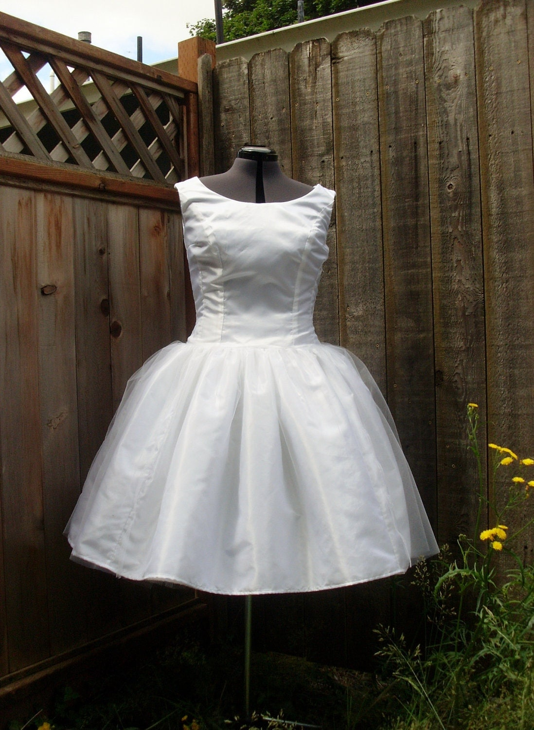 Eleen fashions audrey hepburn funny face wedding gown for Funny face wedding dress