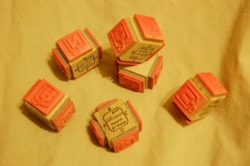 STAMP - Alphabet and Numbers tags