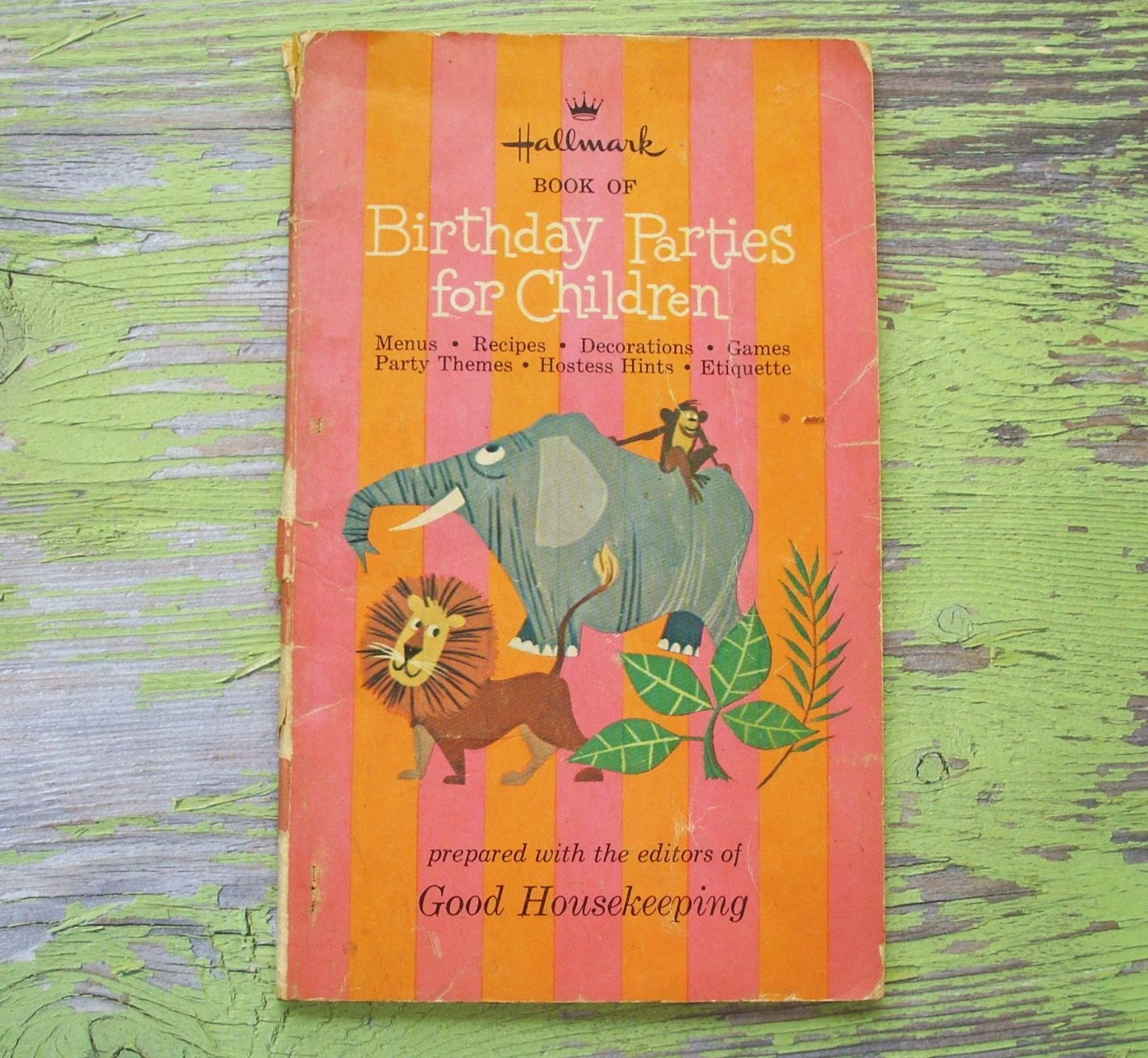 SALE Vintage 1965 Birthday Parties For By TinselandTrinkets