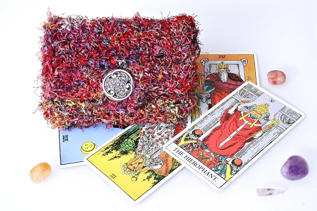 Knit Pattern Tarot Bag : CROCHET TAROT BAG   Only New Crochet Patterns