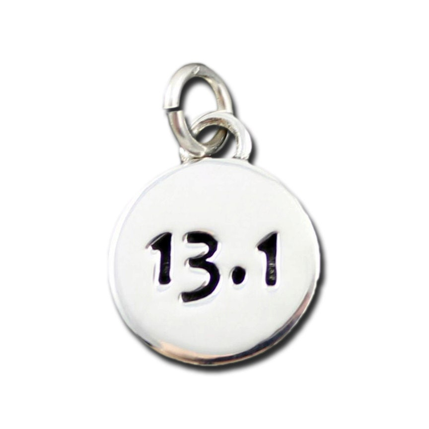 13 1 half marathon charm runner jewelry by inspiredendurance