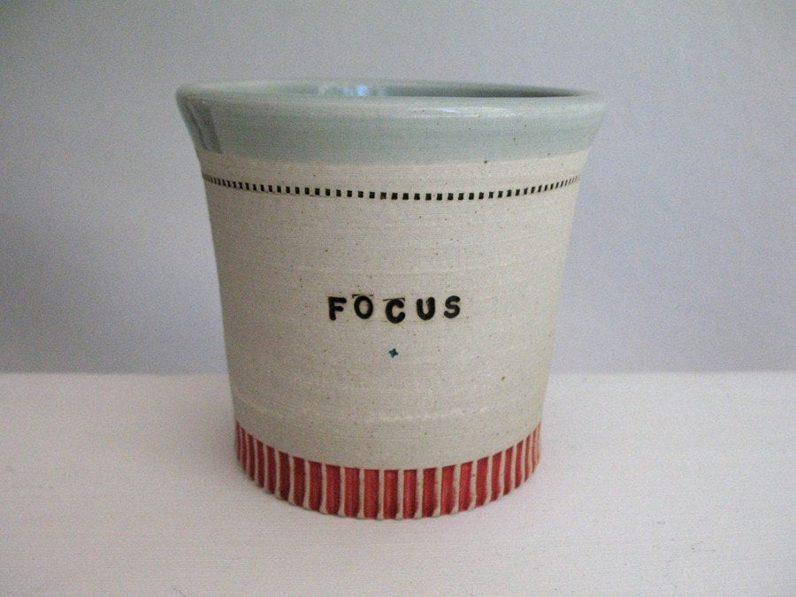Focus - Risk pencil pot