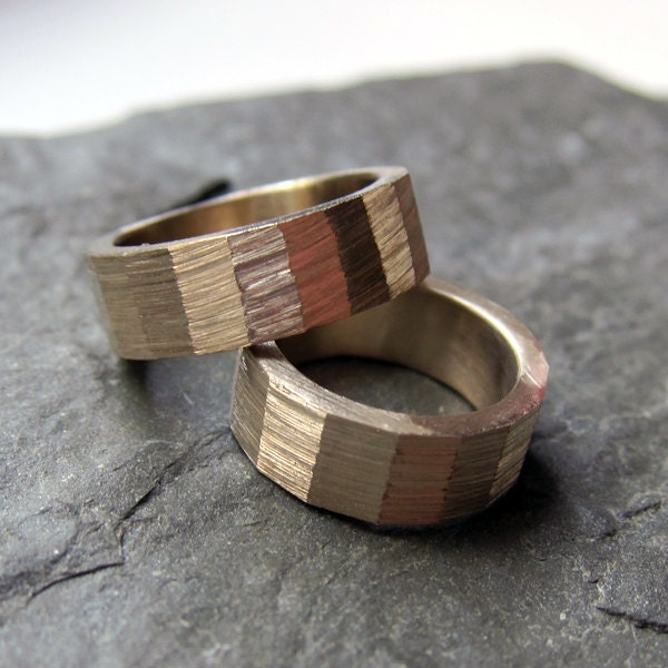 Hex Nut Wedding Ring