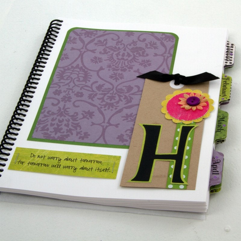 HALEY Design - Medium Personalized Planner