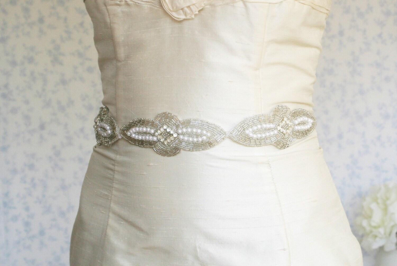 silvery sash/headband - a Versatile Piece