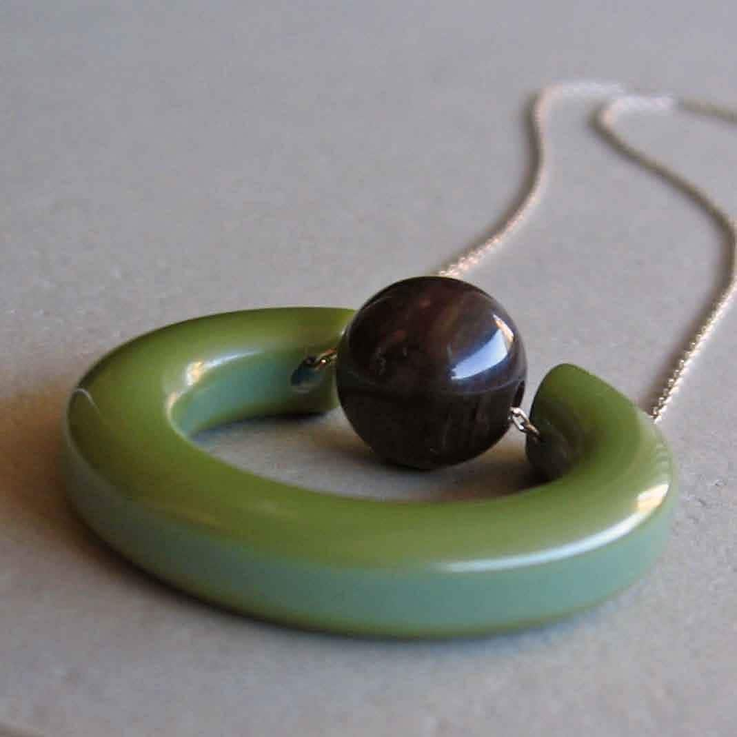 Suspend, Bakelite Necklace
