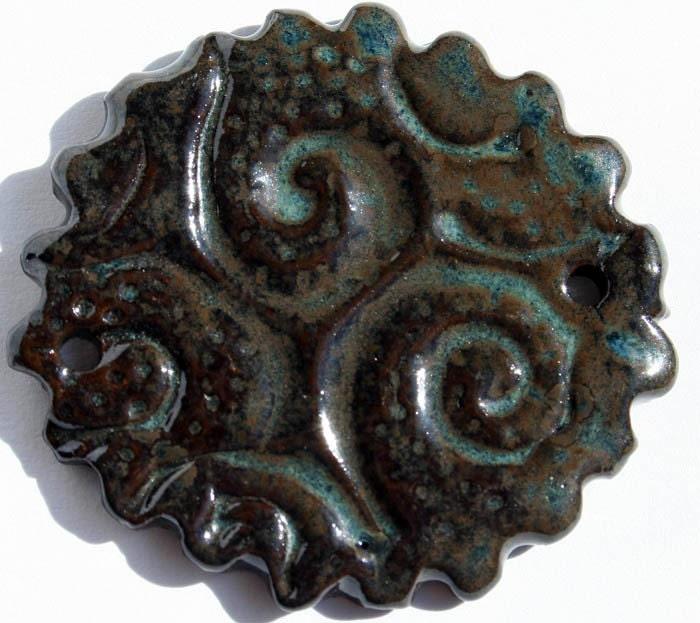 Handmade Ceramic Bead