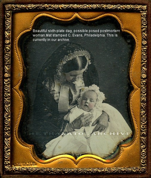 Intriguing Possible Post Mortem Daguerreotype