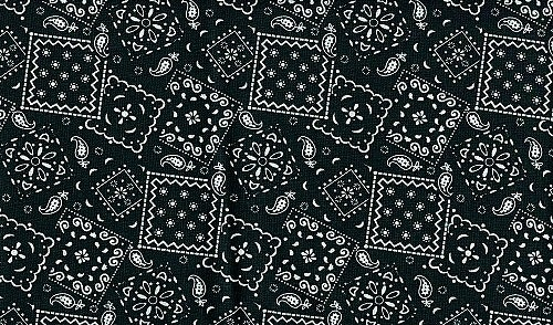 black bandana wallpaper
