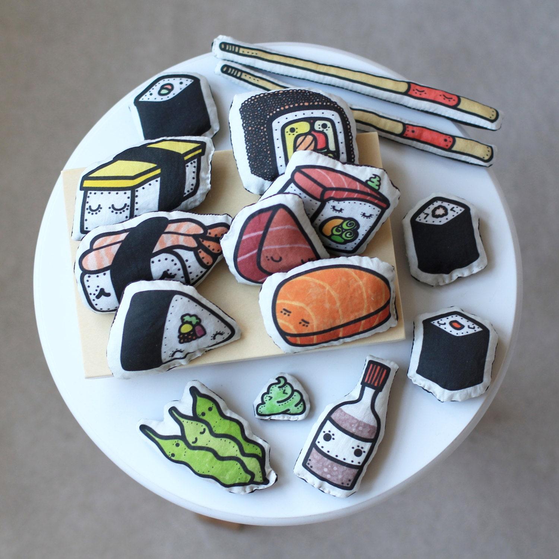 Sushi Plushie Playset