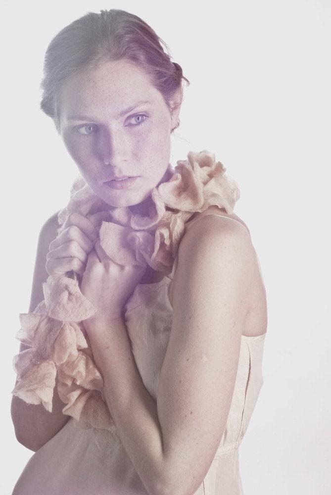 Autumn Nuno Silk Blossom Scarf