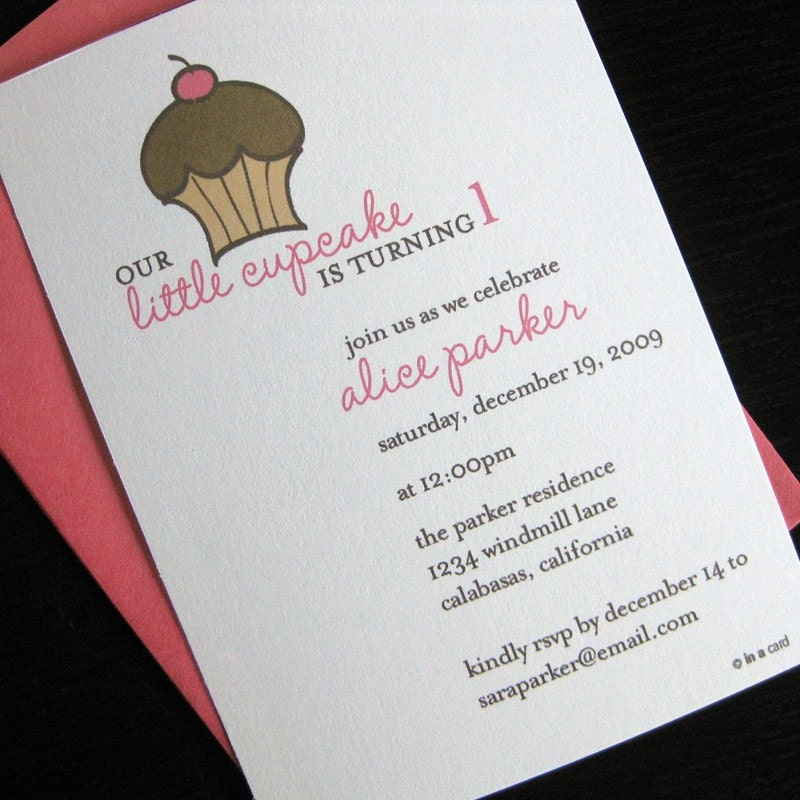 in a cards blog good things come in small packages – Small Invitation Card