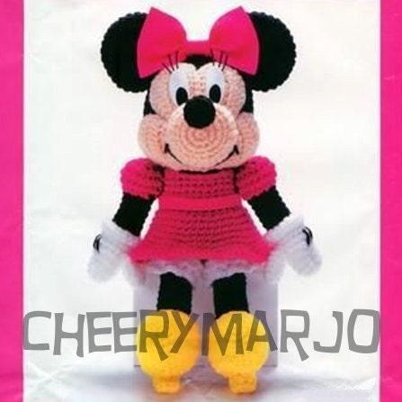Mickey Mouse Amigurumi Schema : Amigurumi Minnie Mouse patron - Imagui