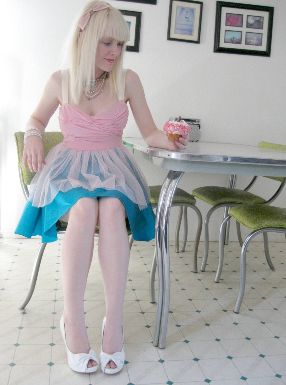 Pink Cupcake Party dress
