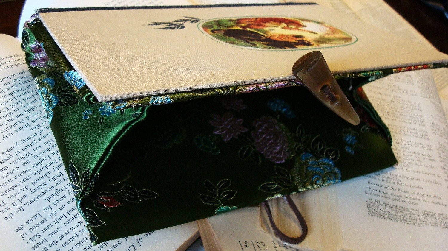 Jungle Book - Vintage Book Clutch by Tome Totes