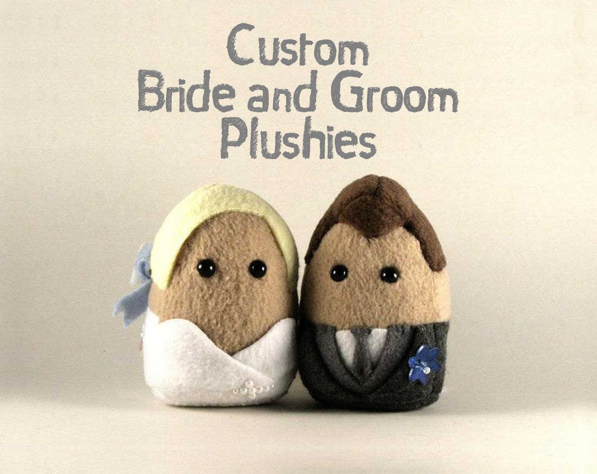 Personalized Wedding Couples, Great for Cake Toppers and Gifts