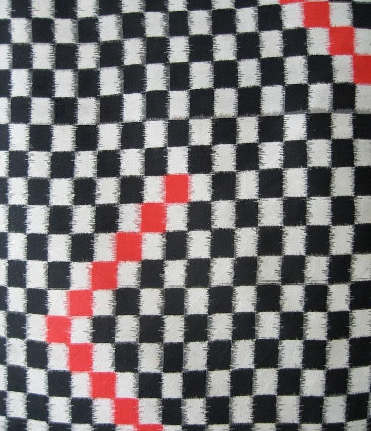 Checkerboard Kimono
