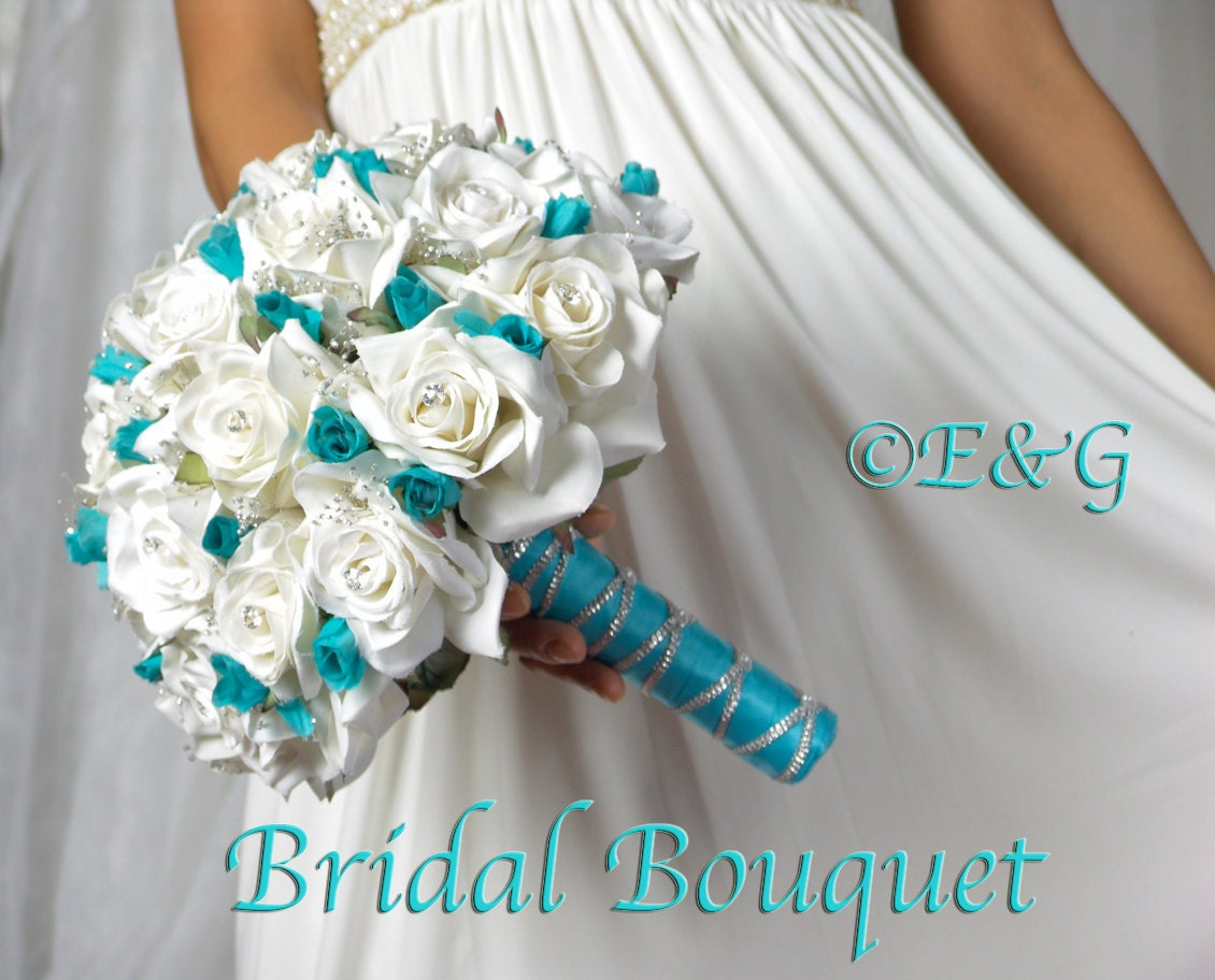 Wedding Bouquet Packages Silk : Beautiful shanti malibu complete bridal bouquet by